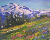 """Mount Rainier National Park"" by Gary Bolyer"