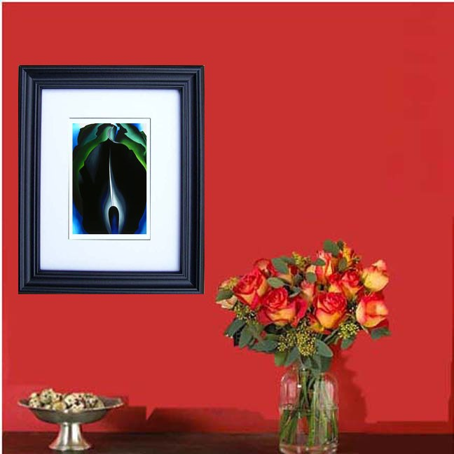 """Jack in the Pulpit""  by Georgia O'Keeffe Framed Art Prints"