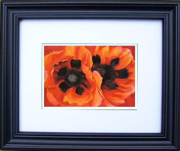 Oriental Poppies 1929 Georgia O'Keeffe Framed Art Prints